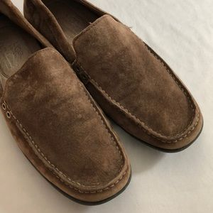 UGG Sz 12(45.5) Brown Leather Loafers